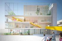 Takto by mohlo vypadat komunitní centrum na sídlišti Máj.