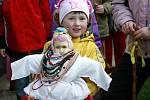 Mladé dívky obcházely podle tradice ve smrtelnou neděli, pátou neděli postní,  stavení ve Vlastiboři na Táborsku s koledou vítající přichod teplého počasí.