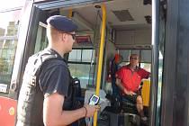 V pátek se v Českých Budějovicích uskutečnila dopravně bezpečnostní akce zaměřená na řidiče a řidičky MHD.