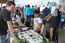 Ve čtvrtek se na českobudějovickém výstavišti uskutečnil 5. ročník zážitkové výstavy Dobrodružství s technikou.
