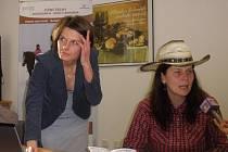 Terezie Daňková (vpravo) se stará o jihočeské hipostezky.