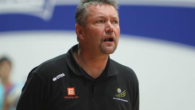 Trenér Karlovarska Petr Brom
