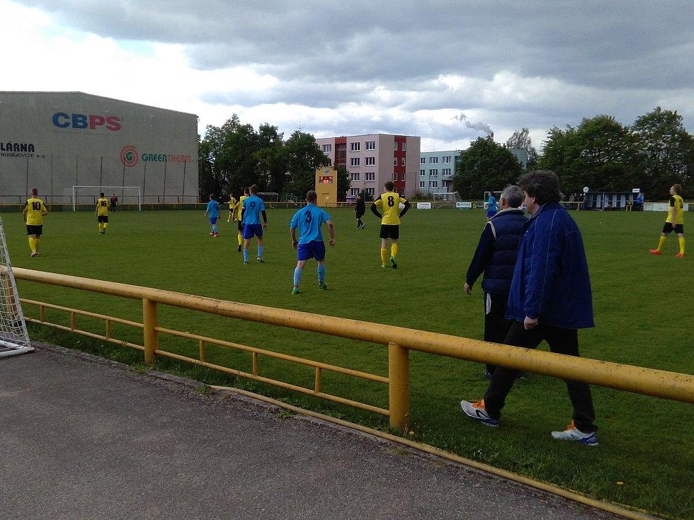 Zápas Lokomotivy proti týmu Břilice /Dobrá Voda se hrál tvrdě