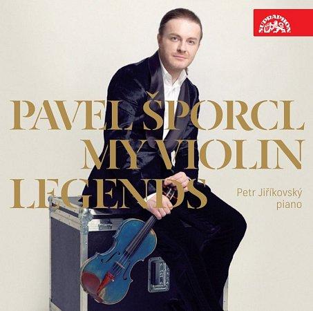 Album Pavla Šporcla My Violin Legends.
