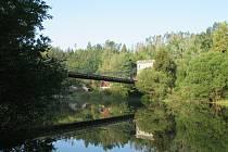 Údolí řeky Lužnice okolo Stádleckého mostu.