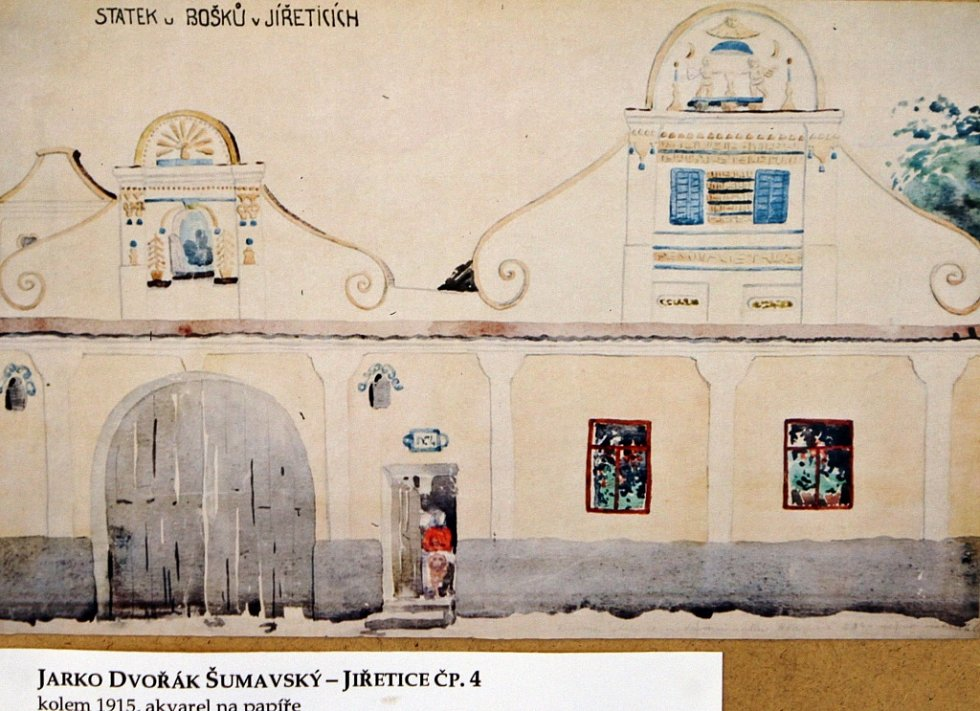 Jakub Bursa, zednický mistr z Vlachova Březí, je zpřítomněn výstavou v Městském muzeu ve Volyni.