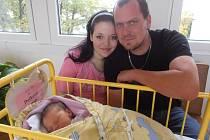 Soňa a Ladislav Doškovi jsou šťastnými rodiči Daniely Doškové. Prvorozená Danielka se na svět probojovala v neděli 28.9.2014 v 8 hodin a 49 minut a po narození se pyšnila váhou 3,34 kg. Rodina je doma v Litoradlicích nedaleko Týna nad Vltavou.