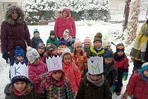 Děti z MŠ Boršov nad Vltavou přinesly poselství Tří králů
