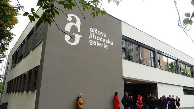 Nově zrekonstruovaný objekt budovy Sparta bude sloužit Alšově jihočeské galerii.
