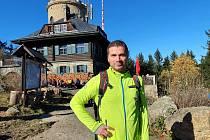 Jan Gruber vyrazil na Kleť
