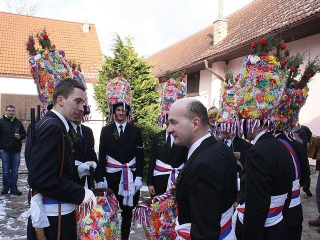 Masopust v Nesměni 2015.