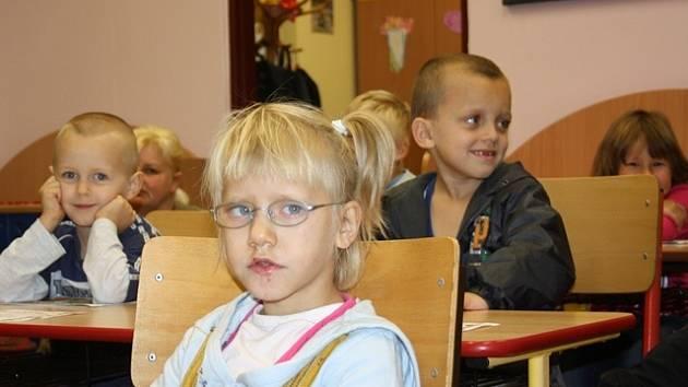 První školní den na MŠ, ZŠ a Praktické škole v Českých Budějovicích.