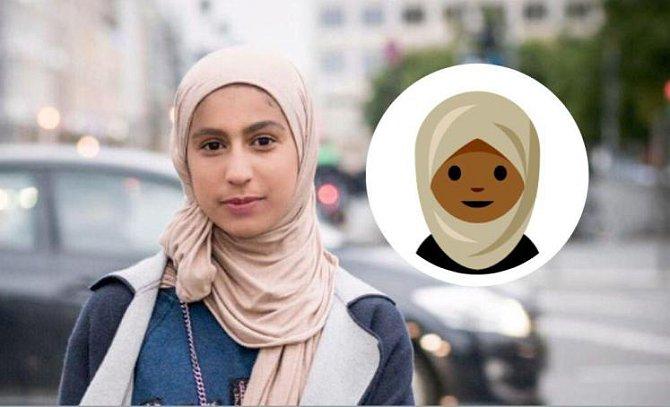 Prosadila smajlíka pro muslimky.