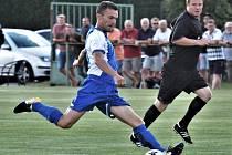 V krajském přeboru fotbalistů se hraje v sobotu sedm zápasů.