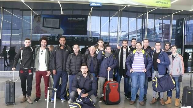 Volejbalisté Maccabi Tel Aviv přiletěli do Prahy