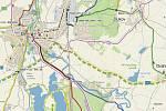 Natáčecí lokalita Krkavec se nachází jen několik málo kilometrů jihovýchodně od města Veselí nad Lužnicí.