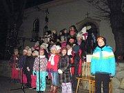 Dolnobukovští nakrmili pod vánočním stromem Stonožku