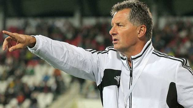 Trenér Luboš Urban prožíval zápasy i v době, kdy vedl České Budějovice.