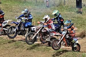 Jeden ze závodů letošního krajského přeboru v motokrosu se jel také v Netolicích.