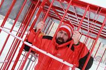 Protest proti zastoupení komunistů v Radě Jihočeského kraje.