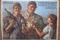 Výstava Aleny Čermákové, jež sloužila v 50. letech propagandě, v Želči