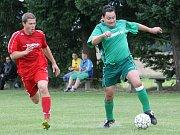 V Chrášťanech se hrál po 21 letech okresní přebor, duel nováčků s Borkem skončil nerozhodně 2:2.