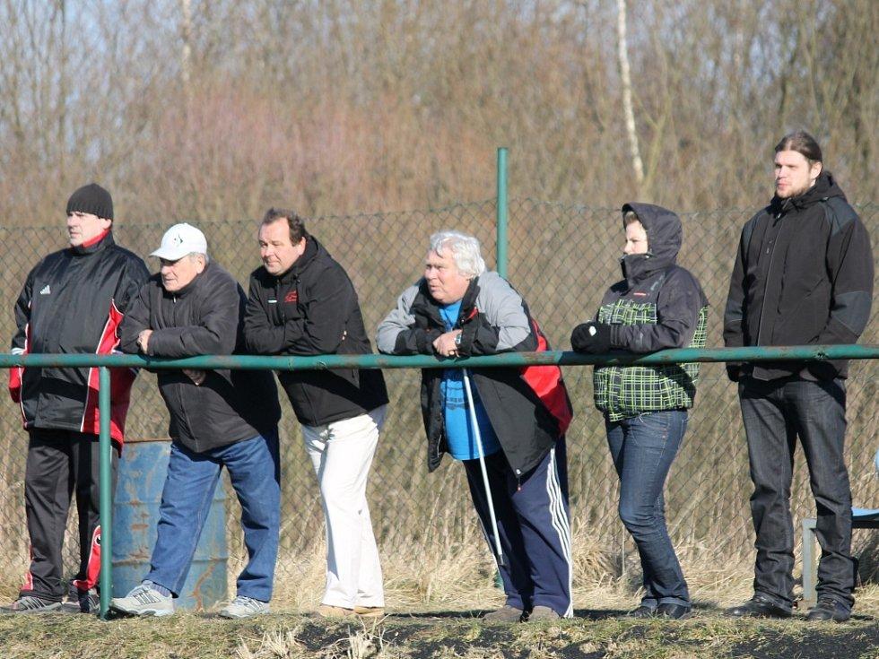 Fotbalisté Malše Roudné v generálce na první jarní kolo podlehli Lažišti 0:1.