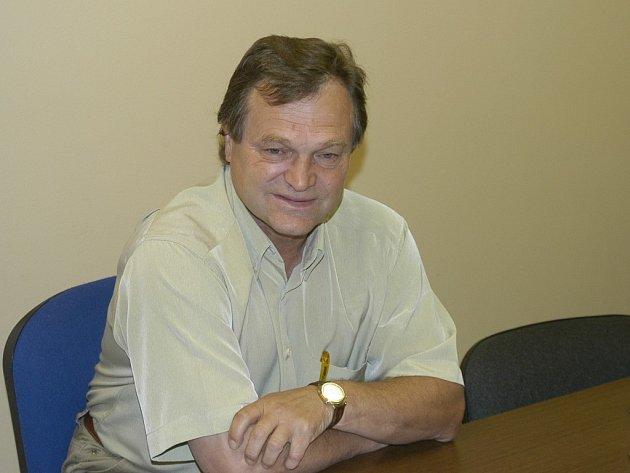 František Joun, generální manažer hokejistů HC Mountfield.