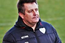 Trenér Miloslav Brožek bude na lavičce Táborska v nedělním utkání II. ligy proti Chrudimi kvůli koronaviru zřejmě chybět.
