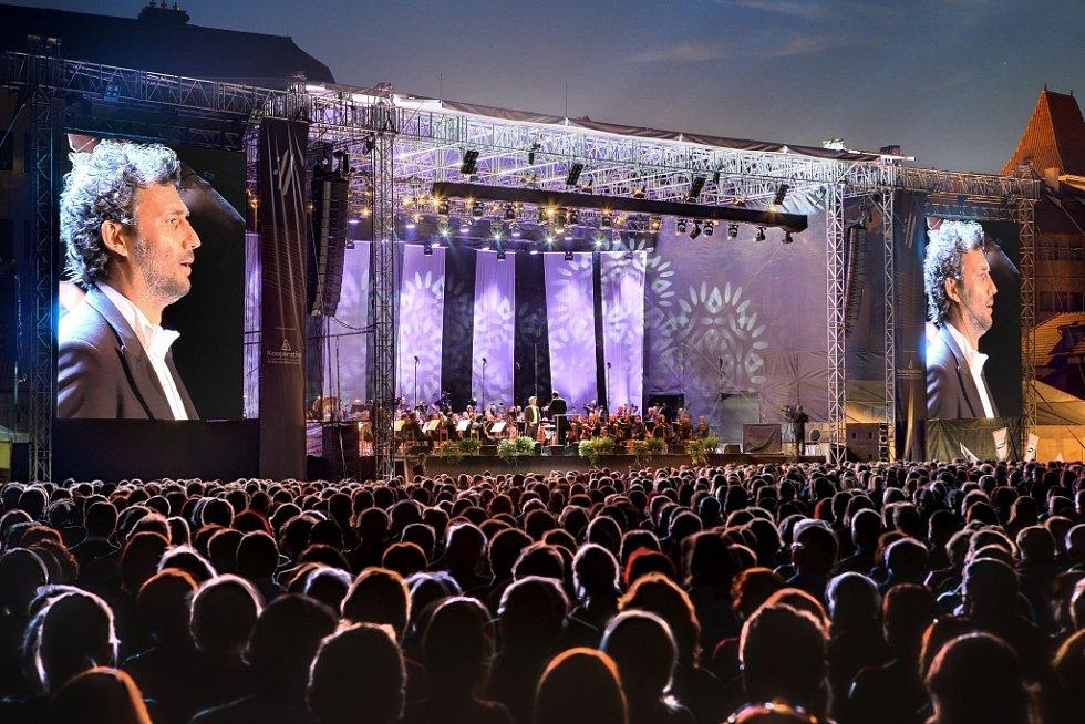 Tenorista Jonas Kaufmann zahájil 18. července Mezinárodní hudební festival v Českém Krumlově.