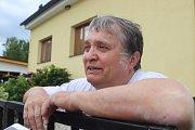 Ilustrační snímky z vesnice Lipí u Českých Budějovic. Na snímku starosta obce Lipí Stanislav Kysela.
