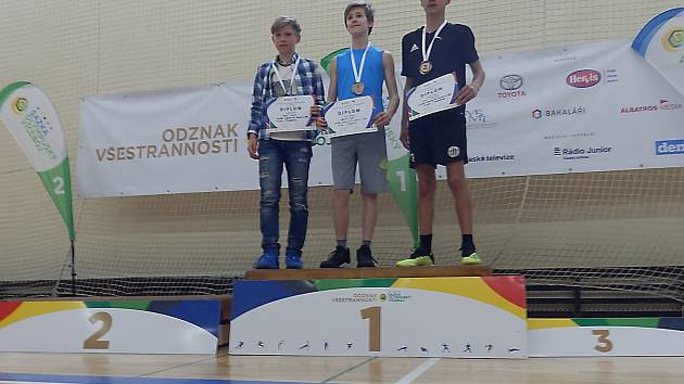 Sazka olympijský víceboj - Odznak všestrannosti  v Českých Budějovicích