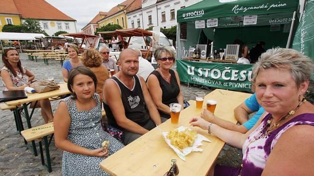 Obyvatelé i návštěvníci Týna nad Vltavou se v pátek a sobotu bavili při jubilejním desátém ročníku městských slavností.