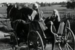 Záběr z filmu Vojtěch, řečený sirotek, který se natáčel na Třeboňsku.