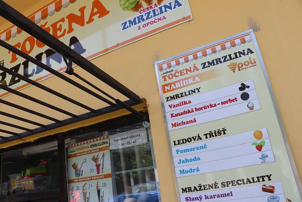 Výrobna zmrzliny Poli v budějovické ulici U Trojice.