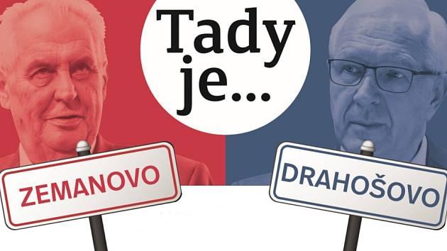 Reportáže ve čtvrtečním tištěném vydání regionálního Deníku vás zavedou do obcí, v nichž nejvýrazněji vyhrál současný prezident Miloš Zeman, nebo naopak jeho vyzyvatel, tedy Jiří Drahoš.