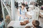 """Tři sta dětí se zúčastnilo akce """"Plyšáková ordinace"""" v českobudějovické nemocnici."""