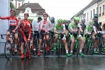 Cyklistický závod Okolo jižních Čech odstartoval v Nové Bystřici