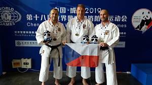 Jihočeši vezou z Číny medaile