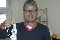 Odchovanec českobudějovického stolního tenisu Ivan Karabec ml. má na kontě řadu medailí z vrcholných akcí.
