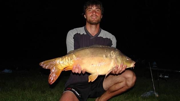 Tomáš Fila velmi rád rybaří