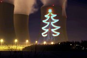 Vánoční stromek zazářil na Temelíně.