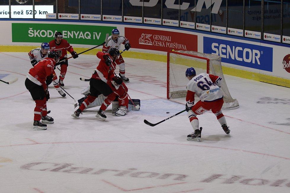 Euro Hockey Challenge ČR - Rakousko v Jindřichově Hradci