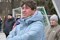 Staronový trenér fotbalistů Týna Vladimír Švec vede v zimě Olympii na Hlubocké lize.