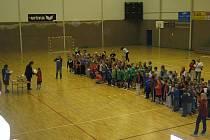Turnaj v házené 4+1 v hale Lokomotivy České Budějovice