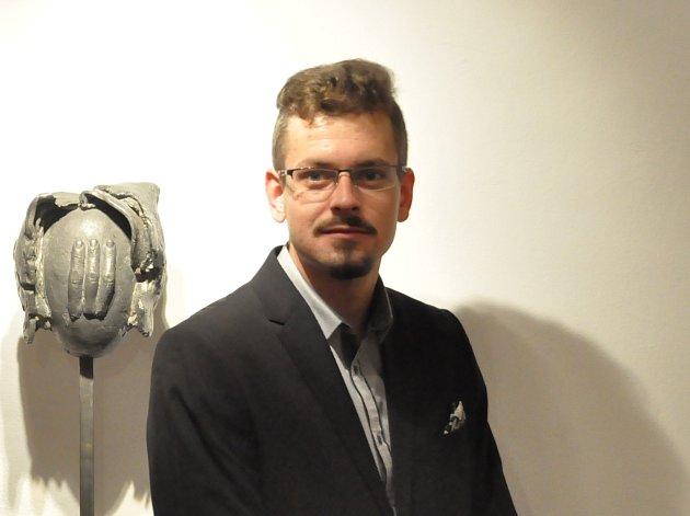 David Kubec, vedoucí ochrany a prezentace sbírek AJG vČeských Budějovicích