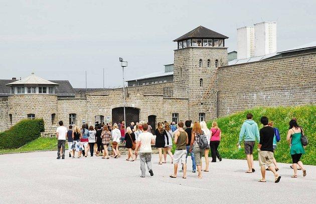 Pamětní místo Mauthausen.