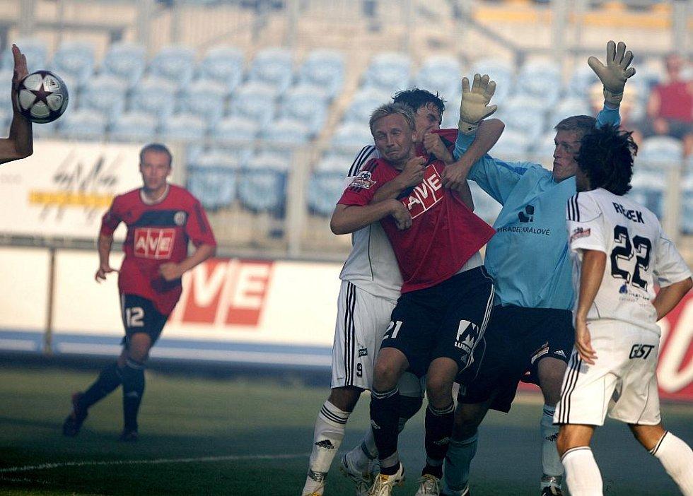 Utkání 5. kola Gambrinus ligy mezi SK Dynamo České Budějovice a FK Hradec Králové