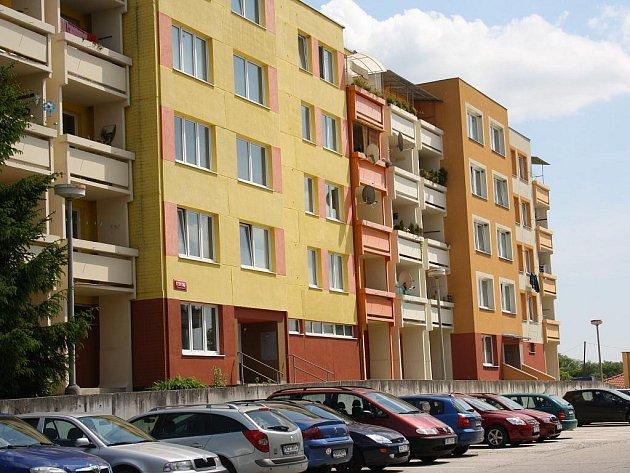 Aktuální snímky z Hlineckého sídliště v Týně nad Vltavou.
