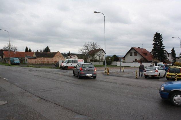 Objízdná trasa Včelná.